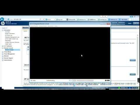 03 - HP Update Firmware ProLiant DL360 G9