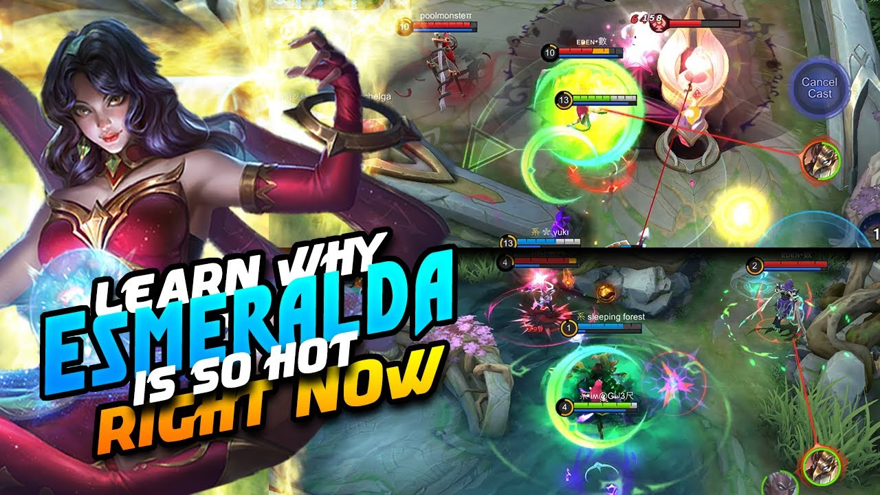 Esmeralda Is Currently Best Mage To Push Rank | Mobile Legends Bang Bang