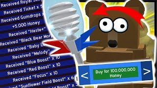 HUGE *NEW* CODE & MOST EXPENSIVE 100 MILLION COLLECTOR! | Roblox Bee Swarm Simulator