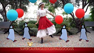 Derek and Julianne Hough and Hayley Erbert Dance to 'Mary Poppins' - The Disney Family Singalong: Vo