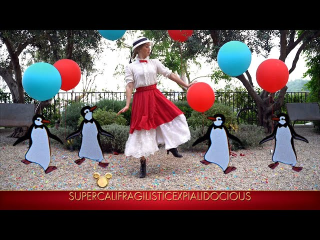 Derek and Julianne Hough and Hayley Erbert Dance to \'Mary Poppins\' - The Disney Family Singalong\: Vo