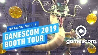 Dragon Ball Z Booth Tour - Gamescom 2019