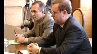 Надиршах Хачилаев на встрече с Степашиным 1998 год