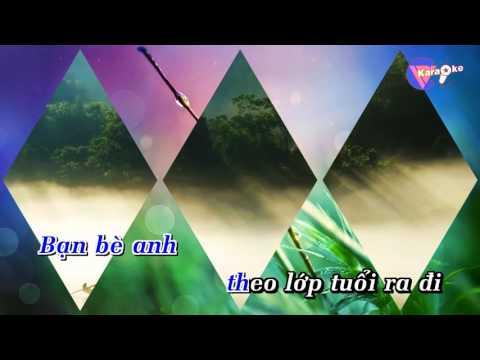 Sương trắng miền quê ngoại   Karaoke HD Beat Chuẩn
