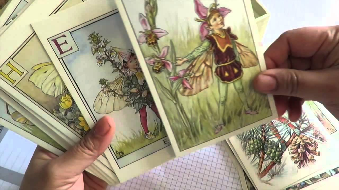 Flower Fairy 100 Postcards By Cicely Mary Barker Youtube