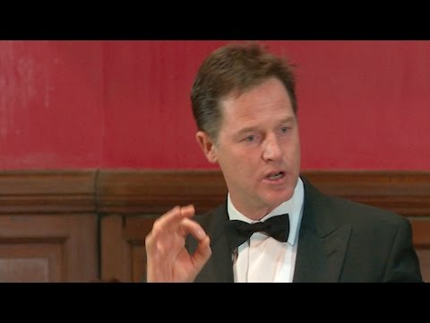 EU Debate | Nick Clegg MP | Proposition