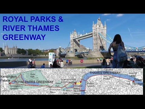 Great cycling in the Royal Parks and by the River Thames: 8 of 18 LCL videos