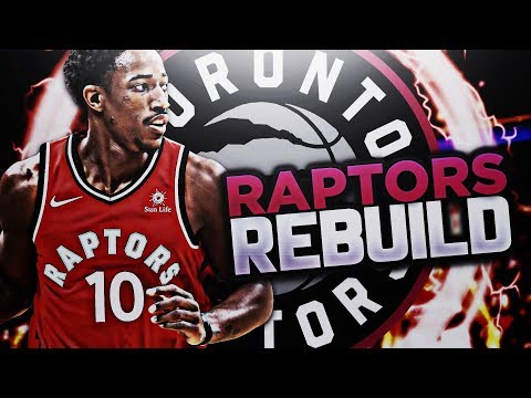FIRST TITLE IN TORONTO?? RAPTORS REBUILD!! NBA 2K18