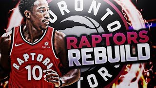 FIRST TITLE IN TORONTO?? RAPTORS REBUILD!! NBA 2K18