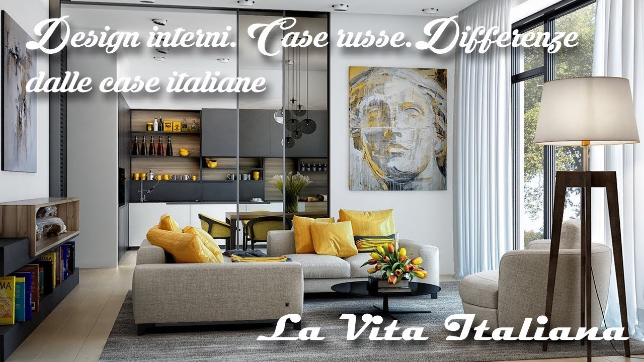 Design interni case russe differenze dalle case italiane for Interni case design