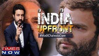 PM Modi challenges Gandhis, Will Rahul accept dare?   India Upfront With Rahul Shivshankar