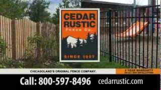 Cedar Rustic Fence Co- You Need A Fence