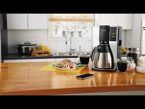 Mr Coffee Coffee Maker Not Working : Mr. Coffee Smart Wifi Enabled WeMo 10-Cup Optimal Brew Coffee Maker With Optimal Brew Technology ...