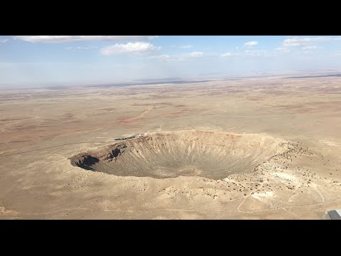 Standing In The Middle Of Meteor Crater - 360 / VR