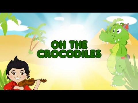Oh the crocodiles (english)