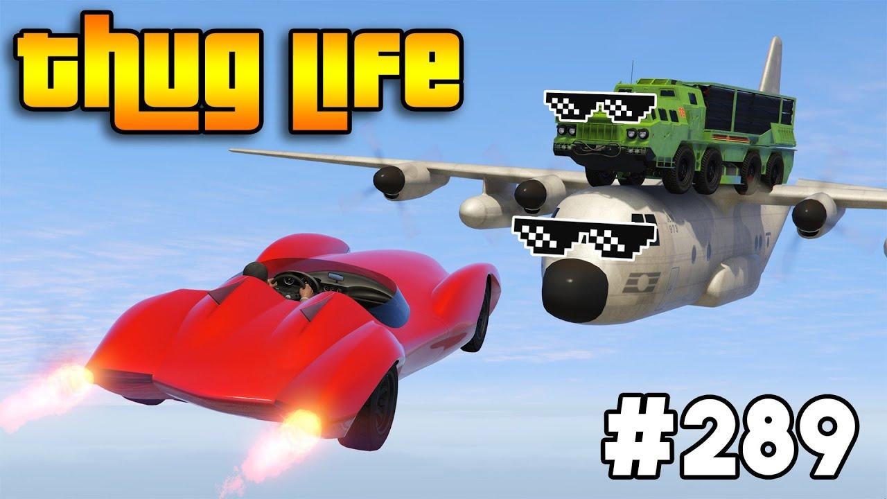 GTA 5 FUNNY MOMENTS AND GTA 5 THUG LIFE 289