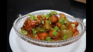 Chilli Gobi recipe || Easy and quick veg Chinese Recipe || Crispy Chilli Gobi Recipe in Hindi