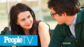Mae Whitman Reveals The 'Painful' 'Parenthood' Scene That Was Completely Improvised | PeopleTV