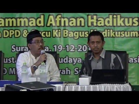 TALK SHOW MAJELIS PUSTAKA SEJARAH KI BAGUS HADIKUSUMA DI BALAI MUHAMMADIYAH SOLO #3