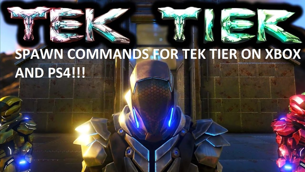 how to use the tek armour in ark