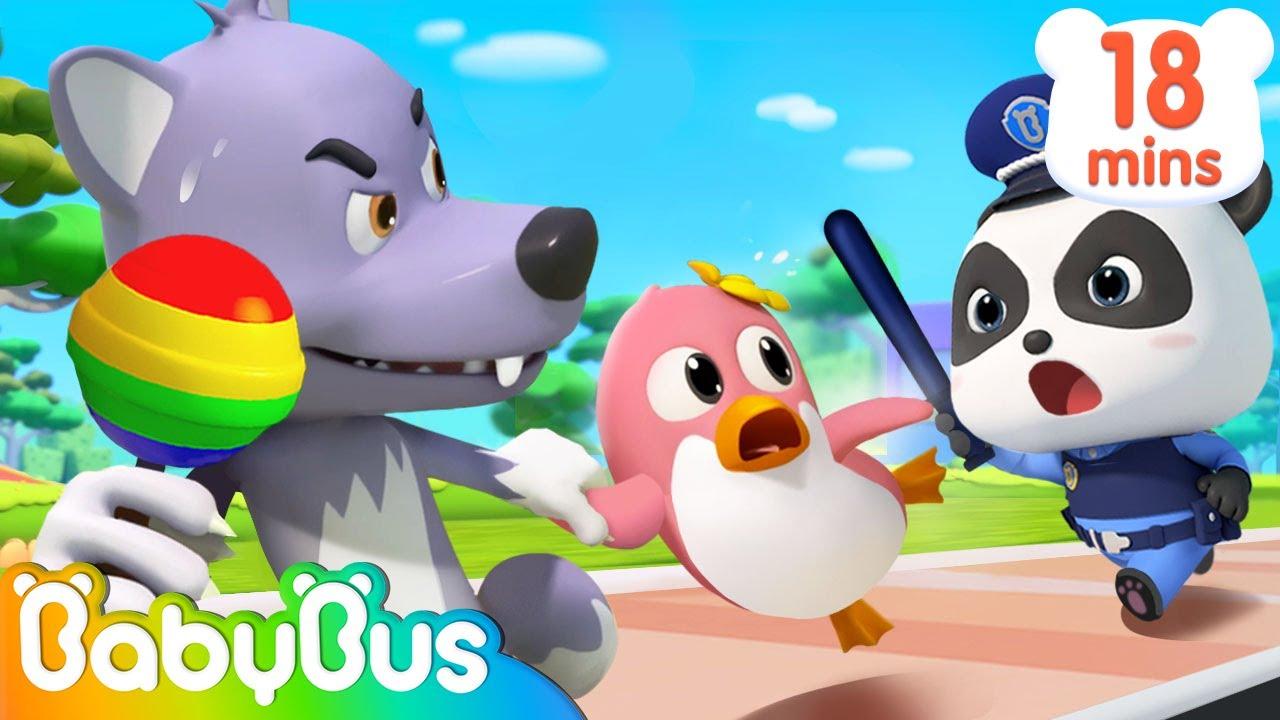 Little Panda Rescues Penguin Nana | Baby Panda's Magic Bow Tie | Kids Safety Tips | BabyBus