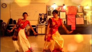Dance in Mor Bhabona re Rabindra Sangeet