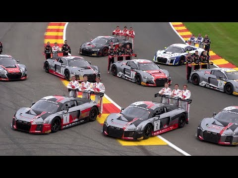 Audi at the 24 Hours of SPA - Race Highlights