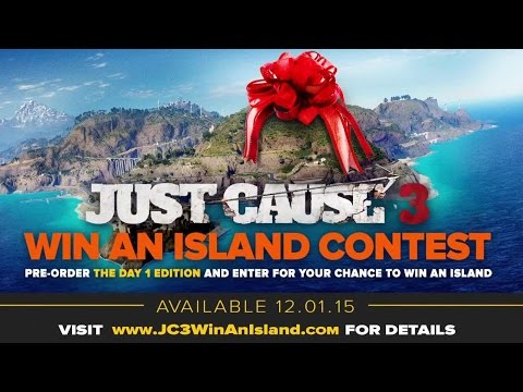Just Cause 3 - Win An Island Contest Trailer (Xbox One)   Official Open World Game (2015)