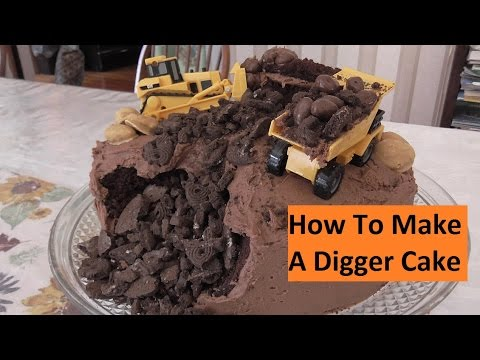 How To Make A Chocolate Digger Cake