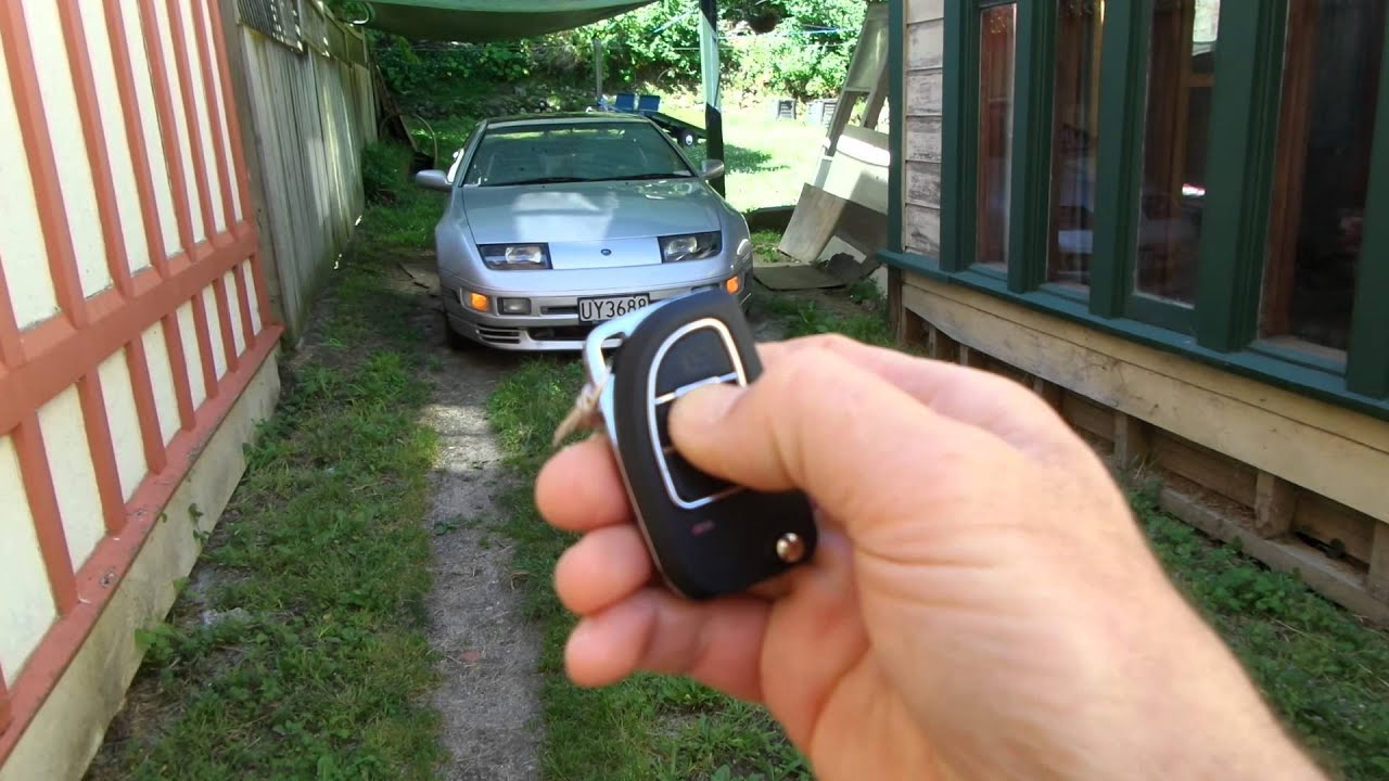 Remote start on a passive keyless entry system - YouTube