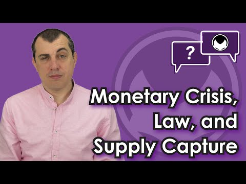 Bitcoin Q&A: Monetary Crisis, Law, And Supply Capture