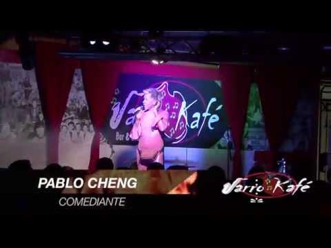 Pablo Cheng en JARRO KAFE, Oh cielos!!!