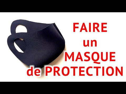 ✅ FAIRE UN MASQUE DE PROTECTION ultra rapide et facile ��