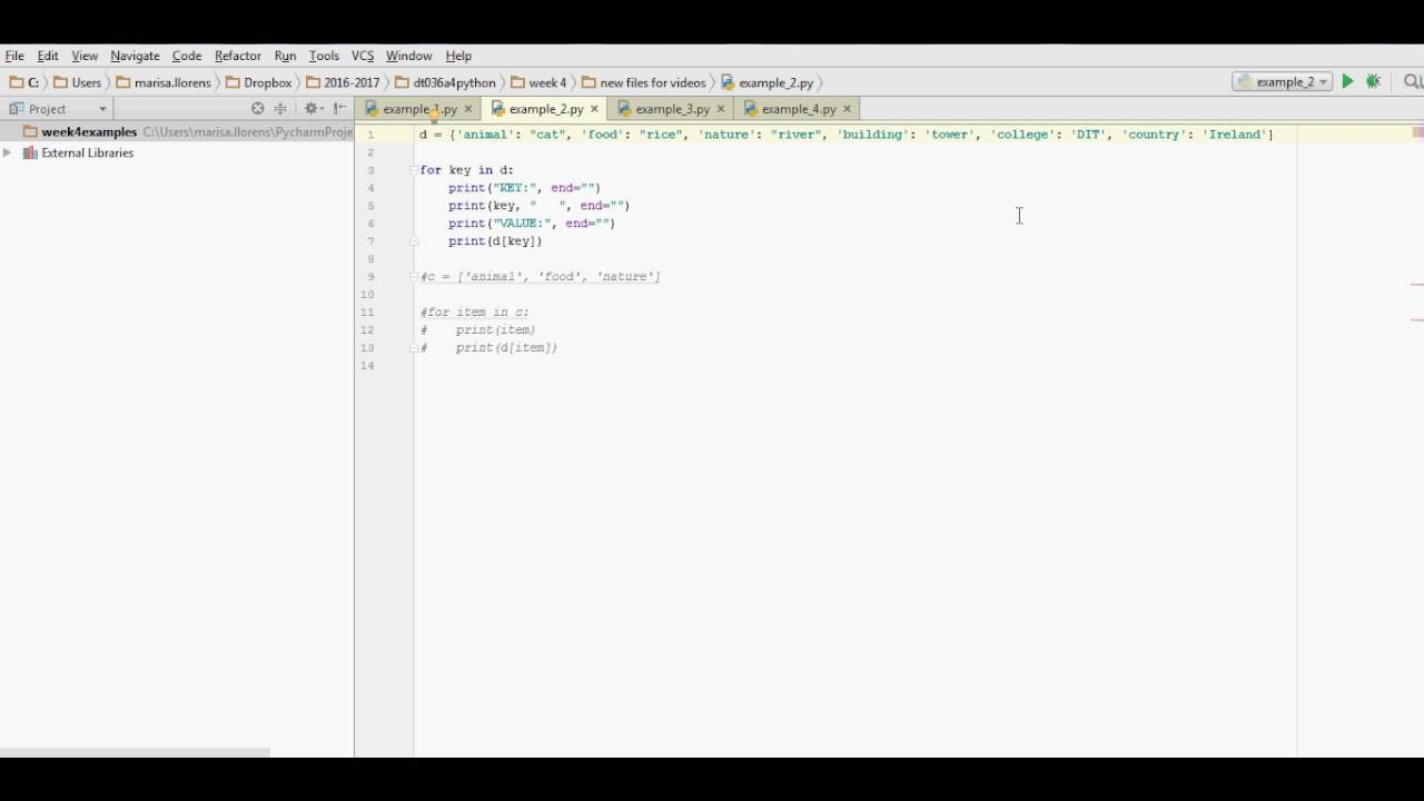 Python 3 X For Loop Looping Over A Dictionary Youtube