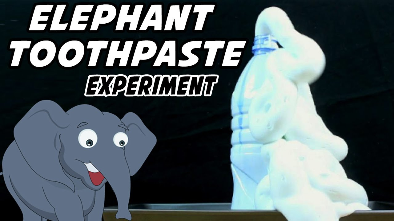 Image result for elephant toothpaste