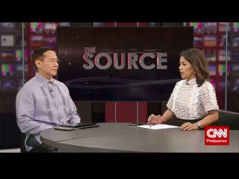 'The Source' speaks to Health Secretary Francisco Duque