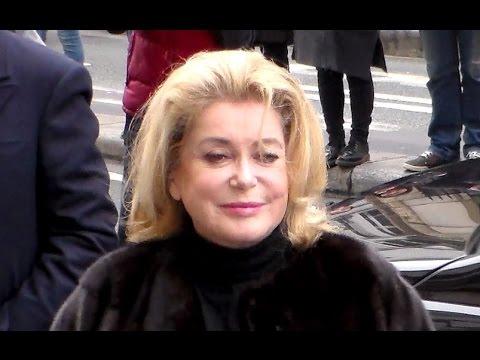Catherine Deneuve Jean Paul Fashion Show