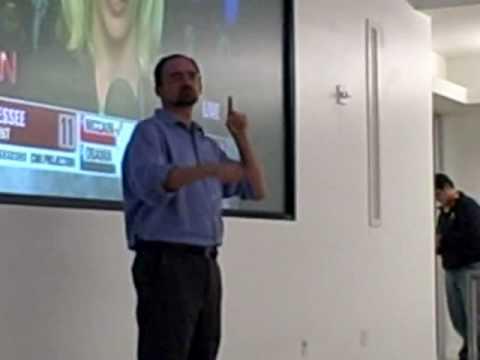 Professors Gene Mirus and Joseph Murray Speaks at SLCC