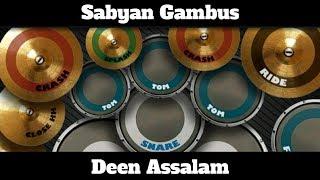 Sabyan Gambus-Deen Assalam (Real Drum Cover by@lazuardi_barus)