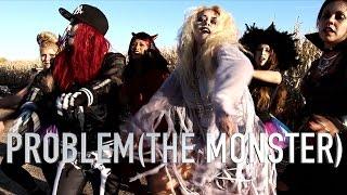 Gambar cover Problem (The Monster Remix)- Becky G ft. Will.I.Am.- MIRONZUMBA- Halloween