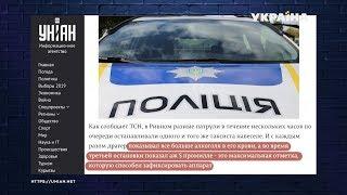 Полицейские в Ровно три раза останавливали пьяного таксиста и отпускали | Без паники