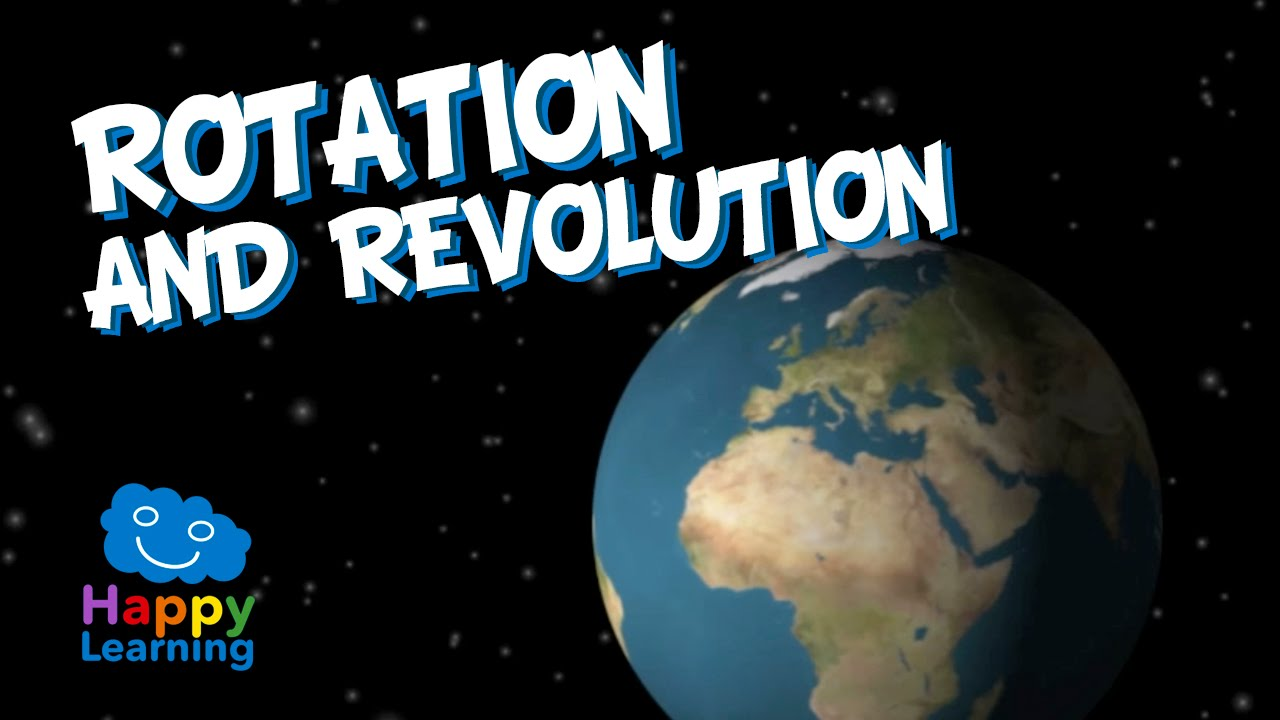 Rotation And Revolution Of Earth Educational Video For Kids Youtube Free Illustration Solar System Orbit Diagram Digital