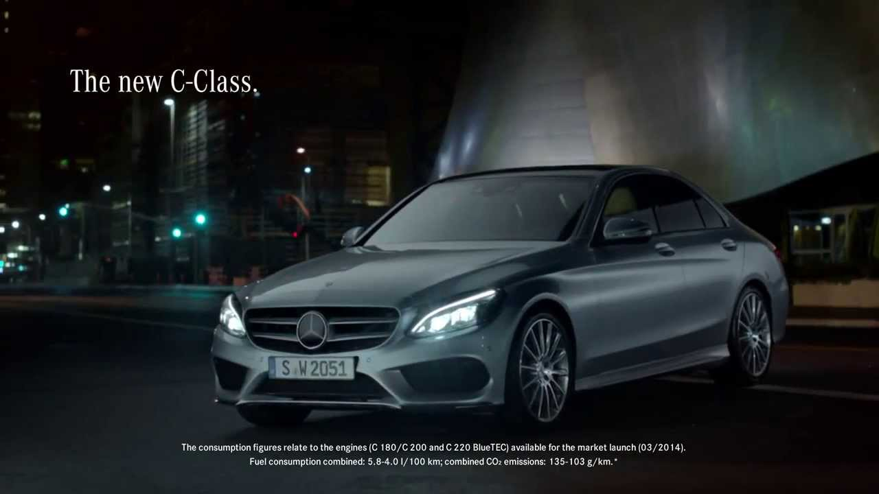 Mercedes benz 2015 c class tv commercial options hd for Mercedes benz new advert