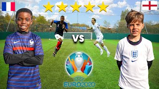 11 Year Old POGBA vs 10 Year Old HARRY KANE UEFA EURO 2020 Football Competition
