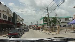 DRIVING THROUGH  ORANGE WALK