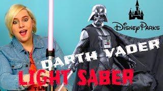 Video Disney Parks Force FX Darth Vader Lightsaber UNBOXING and REVIEW download MP3, 3GP, MP4, WEBM, AVI, FLV Juli 2018