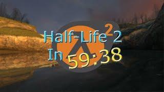 Half-Life 2 In 59:38 (World Record) HISTORY!