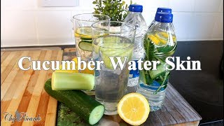 Cucumber Water Skin Benefits Detoxing Your Body For Summer | Chef Ricardo Cooking