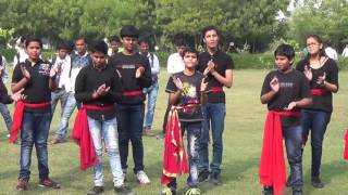 Corruption Nukkad Natak Performed by DKNMGS Students