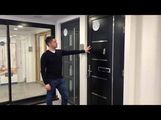 Cherwell Windows showroom tour - Origin Aluminium Front Doors